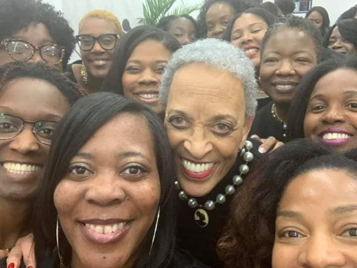 JAX - NCNW, Inc. members with National Chair Dr. Johnnetta B. Cole, Ph.D. image